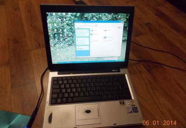 Ноутбук asus a8j на разбор