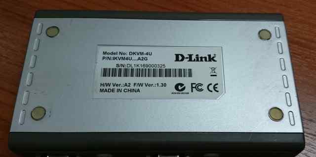 D-Link dkvm-4U переключатель устройств ввода