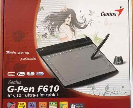 Планшет для рисования Genlus G-Pen F610