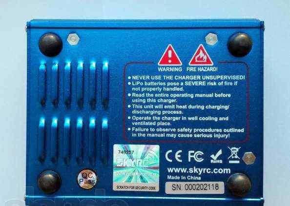 Оригинальное зарядное устройство Imax B6 mini
