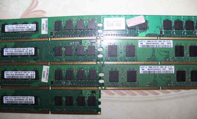 Оперативная память DDR, DDR2