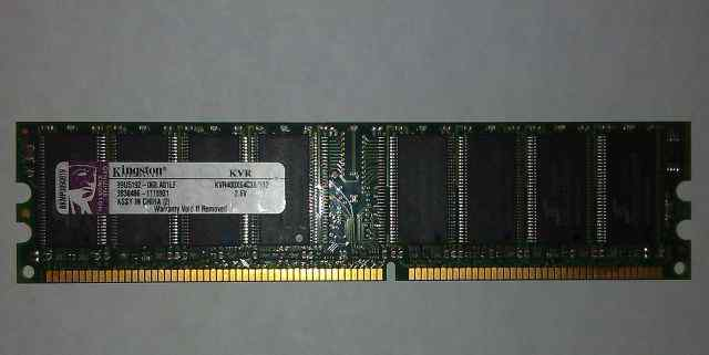 DDR 512 MB Kingston KVR400X64C3A/512 (15 модулей)