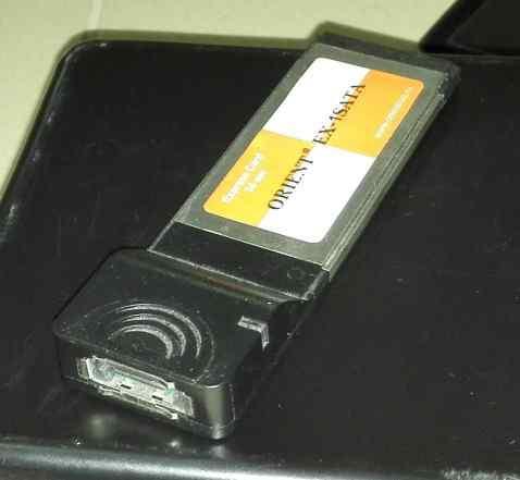 Переходник c ExpressCard на esata