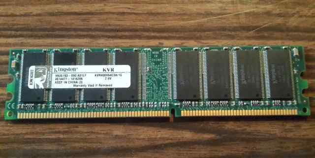 Kingston DDR 1GB 400MHz