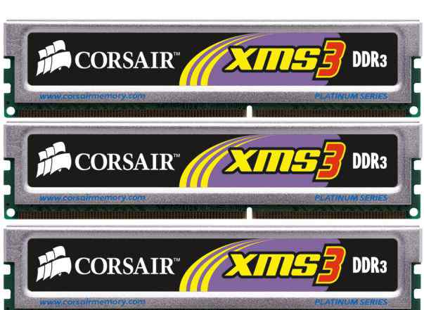 Corsair XMS3 - Xtreme Performance DDR3 Memory 1GB