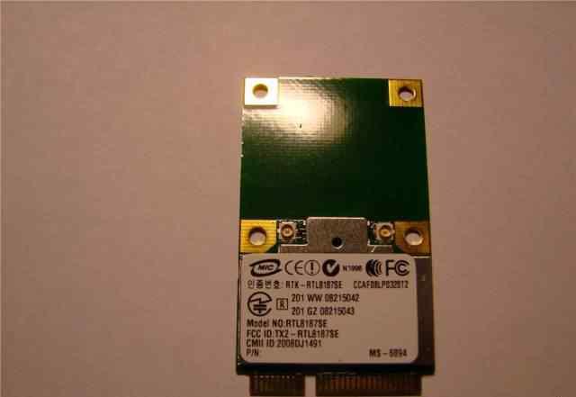 WiFi модуль Realtek RTL8187SE (802.11b/g)