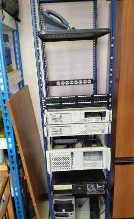 Сервер для 1C, файлового хранилища, почтовый серве