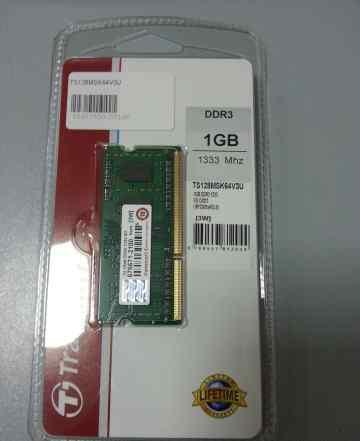 Память so-dimm ddr3 1 Gb для ноутбука 1333