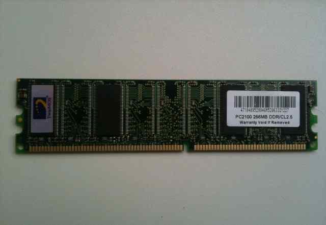 Оперативная память twinmos PC2100 256MB DDR CL2.5