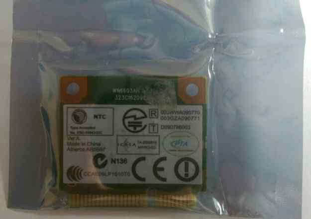 Адаптер Wi-Fi b/g/n mini PCI Express