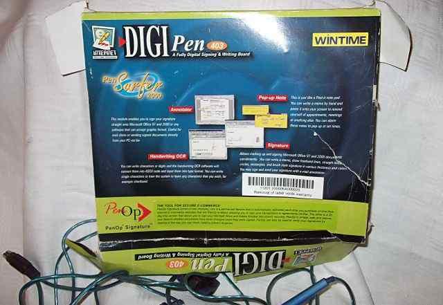 Графический планшет DigiPen 403