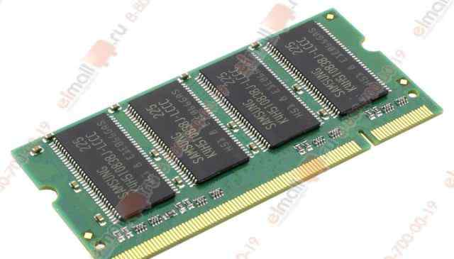 Оперативная память 512MB DDR 400MHz