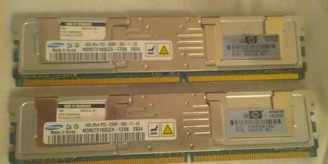 HP PC2-5300F 4 GB 466436-061