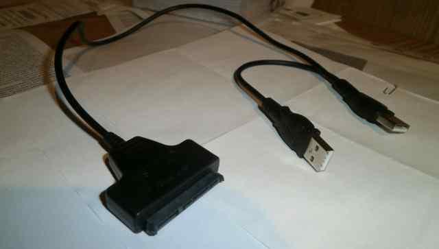 Кабель SATA - USB