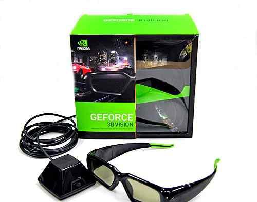 Очки nvidia 3D-vision полный комплект