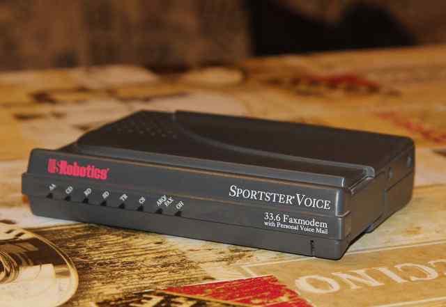 Модем-факс US Robotics Sportster Voice