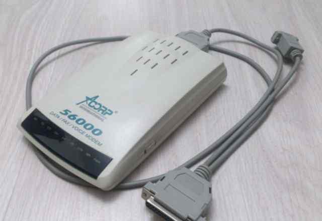Модем Acorp 56k Fax Modem