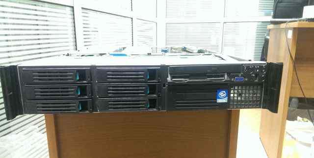 Cервер Intel 2U Xeon x2