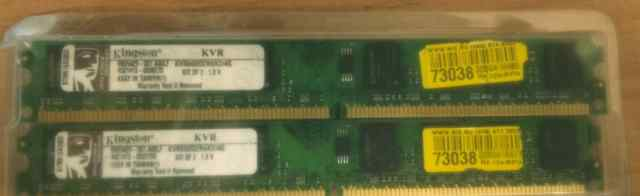 Kingston KVR800D2N6K2/4G 2x2Gb
