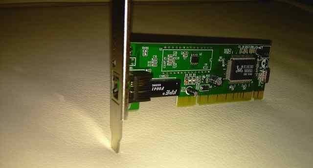 Сетевая карта PCI, 10/100mbps