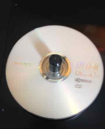Чистые DVD и CD болванки + конверты