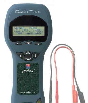 Тестер кабелей Psiber CT50 CableTool Multifunction