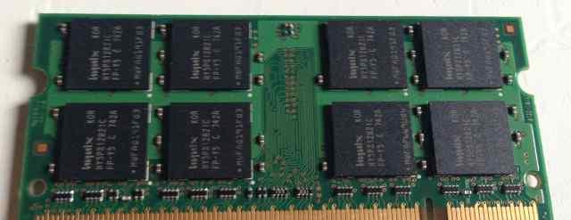 Оперативная память Hynix 1GB 2Rx8 PC2-5300S-555-12