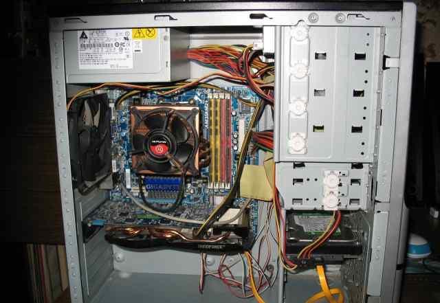 Игровой компьютер Phenom II x4 955/4Gb/1Tb/GTX660