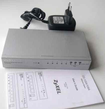 Коммутатор zyxel ES-108A (8 портов)