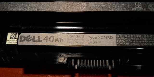 Аккумулятор xcmrd - 14.8V для dell