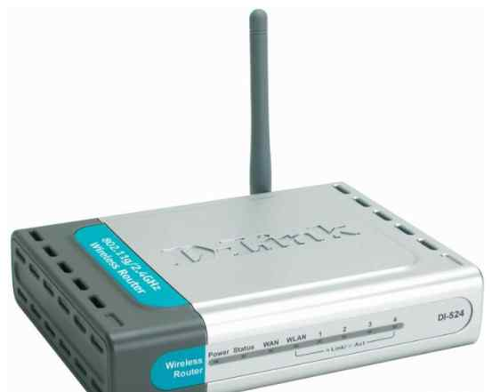 D-Link Dl-524 Wi-Fi маршрутизатор