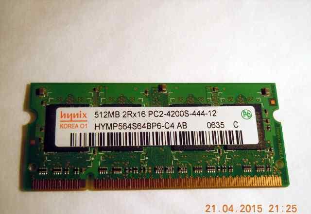 Модуль памяти DDR2 Hynix 512MB