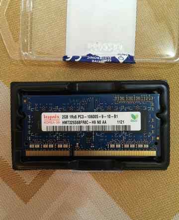 Hynix 2Gb PC3-10600S-9-10-B1