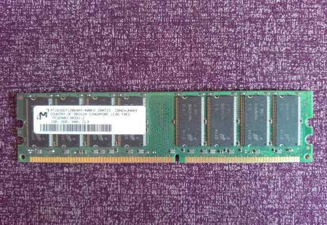 Планка памяти DDR400 на 1 Гб
