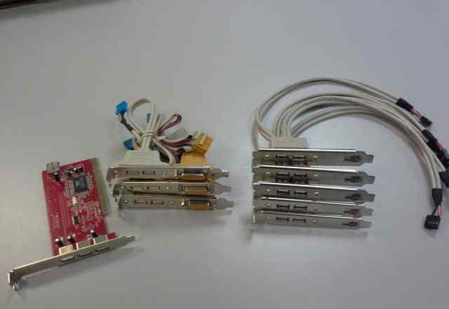 Дополнительные планки USB