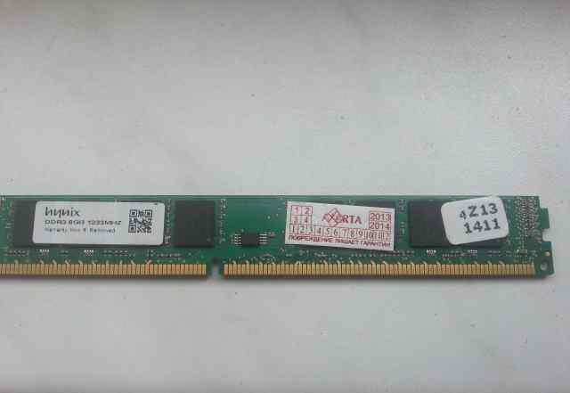 Оперативная память Hynix DDR3 1333 dimm 8Gb