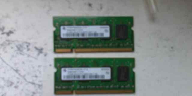 Оперативная память HYS 512MB PC2-4200S-444-11-AO