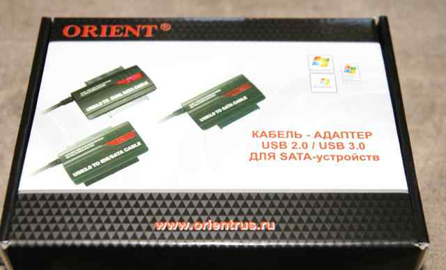Контроллер SATA - USB2.0 Orient UHD-303