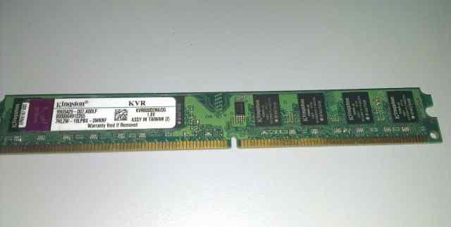 Kingston 2GB DDR2 KVR800D2N6/2G новая