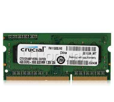 Модуль памяти для ноутбука SO-dimm DDR3, 4гб
