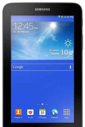 Samsung Galaxy tab 3 lite SM T113