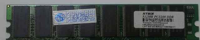 Hynix DDR dimm 512Mb (PC-3200 )