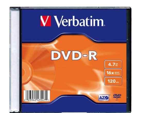 Диски verbatim dvd (минус)