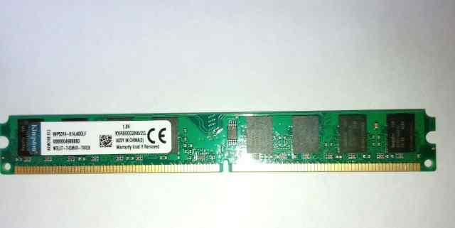 Оперативная память Kingston DDR2 2Gb