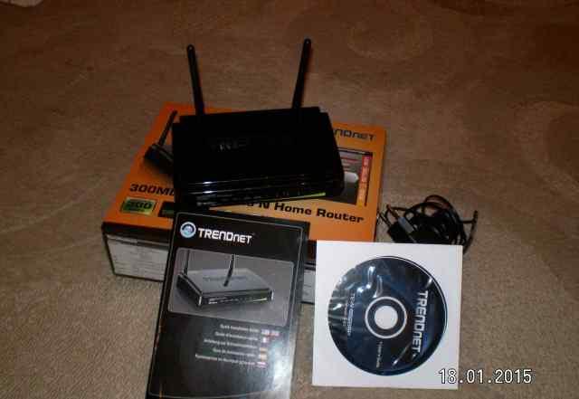 Маршрутизатор trendnet TEW-652 BRP