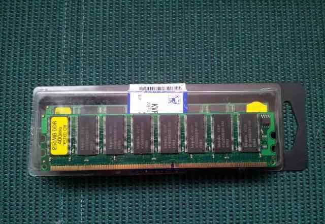 Память DDR 400Mhz 256Мб