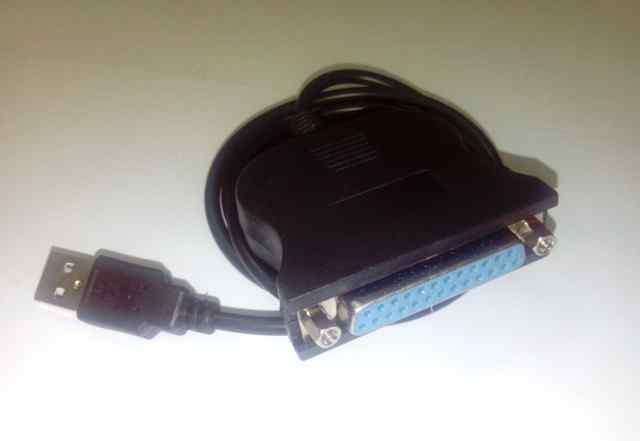 Кабель переходник USB 1.1 на LPT для принтеров