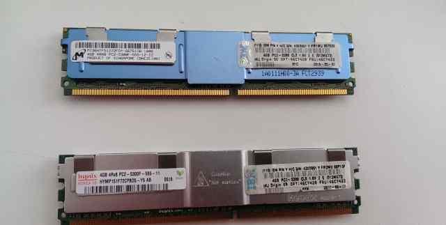 Серверная память 4GB 4Rx8 2Rx4 PC2-5300 DDR2 ECC