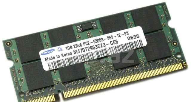Sodimm DDR2 1Gb Samsung