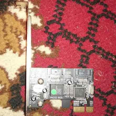 Контроллер SATA PCI-E A-410 STLab